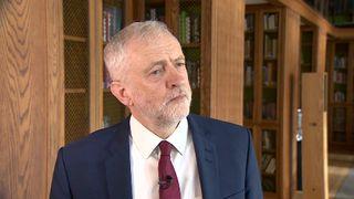 Labour leader Jeremy Corbyn MP