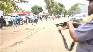 Police fire on anti-immigration protesters in Pretoria