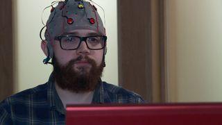 Chris Creegan uses mind control in gaming