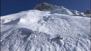 The avalanche happened in an off-piste area called Toviere