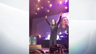 The End for Ozzy Osbourne. Pic: @Black Sabbath