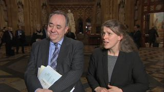 SNP Foreign Affairs spokesman, Alex Salmond MP & Labour's Rachael Maskell MP