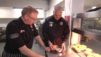 Free pies for all at Morecambe