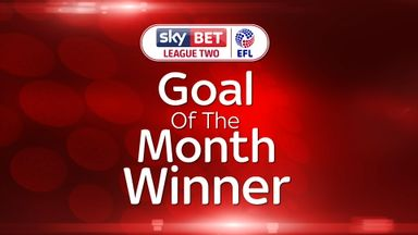 League Two GOTM winner - Massey