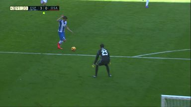Espanyol gifted goal