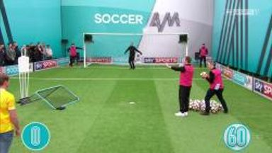Milwall v Leicester - Volley Challenge