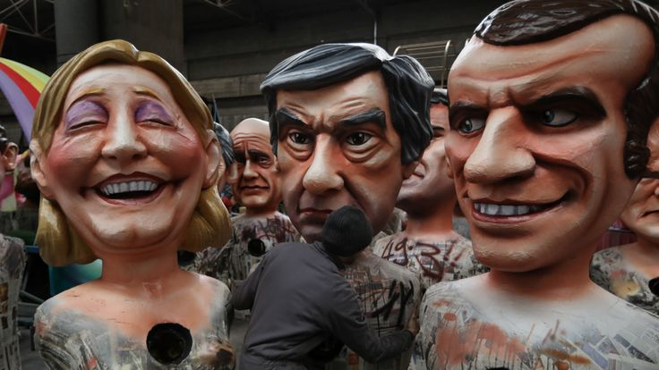 Marine Le Pen, Francois Fillon and Emmanuel Macron all face different challenges in the National Assembly elections