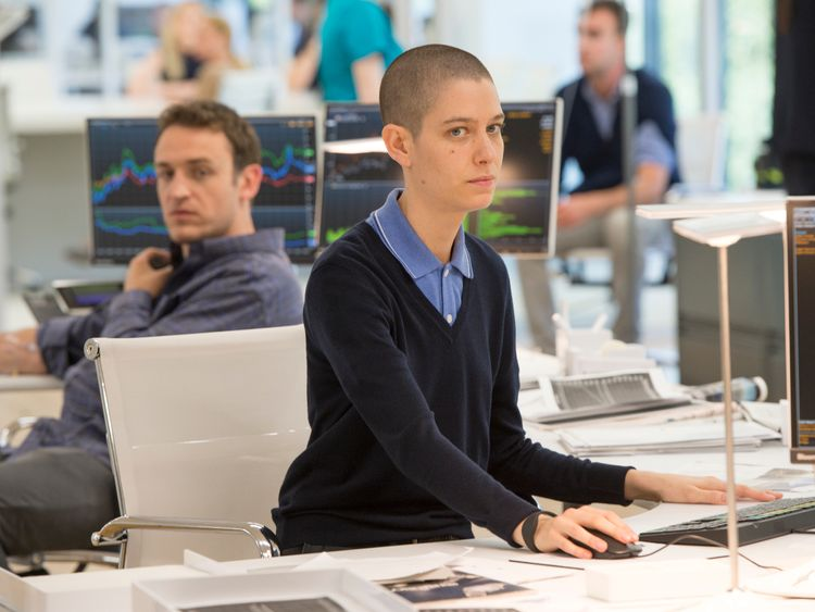 Asia Kate Dillon in Billions