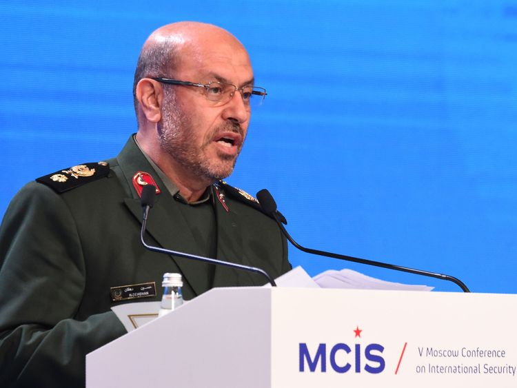 Mr Dehghan said Iran 'will not let any foreigner meddle with our defence issues'