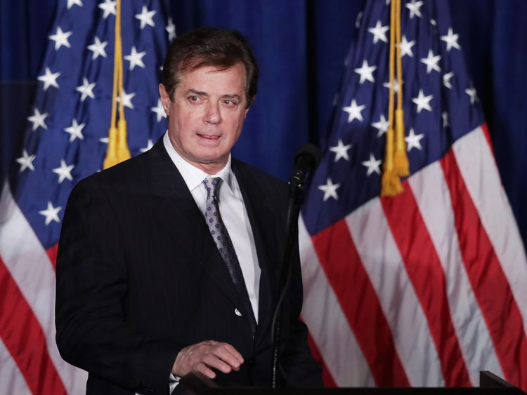Former Trump campaign chief Paul Manafort was named in the reports