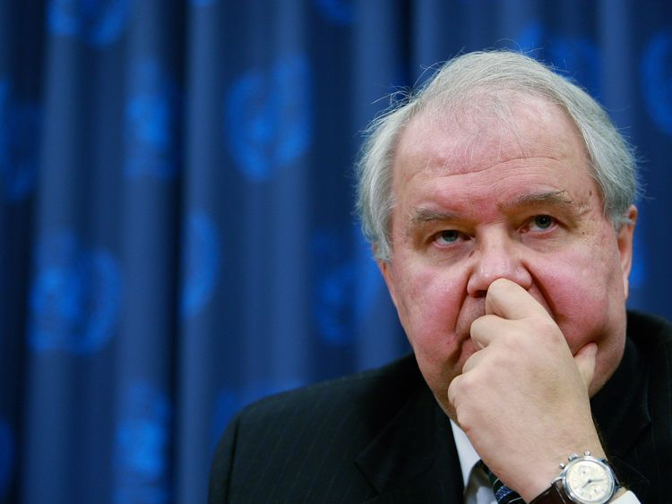 Sergey Kislyak is reported to have spoken to Gen Flynn about sanctions