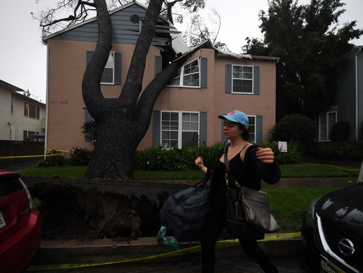 It is California's strongest storm in six years