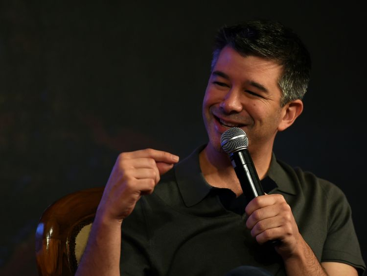 Travis Kalanick co-founded Uber