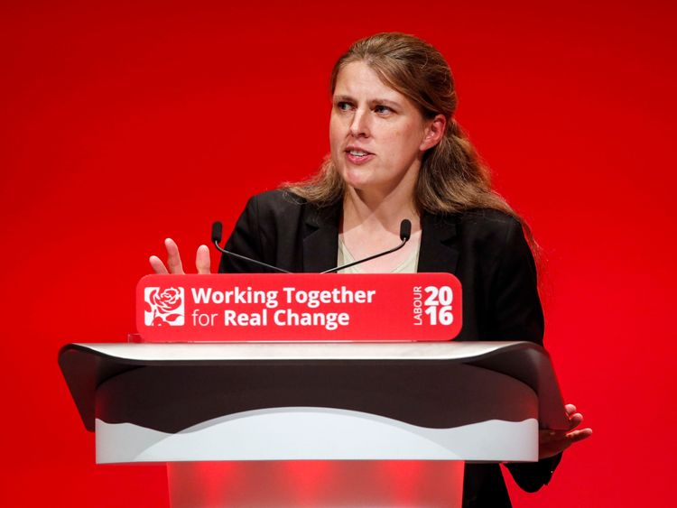 Shadow environment secretary Rachael Maskell who has resigned from the shadow cabinet after revealing she will defy the Labour whip to vote against triggering Article 50 to formally begin Brexit