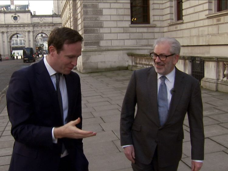 Lord Kerslake talks to Sky's Ed Conway