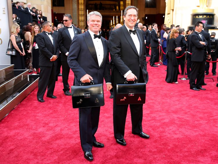Brian Cullinan is a managing partner at PWC, in charge of the Oscars ballots