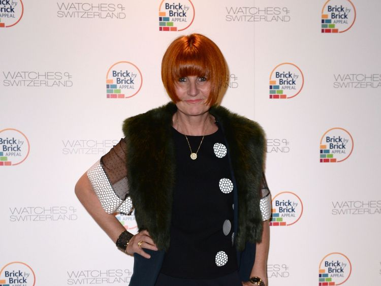 Mary Portas attends a charity auction