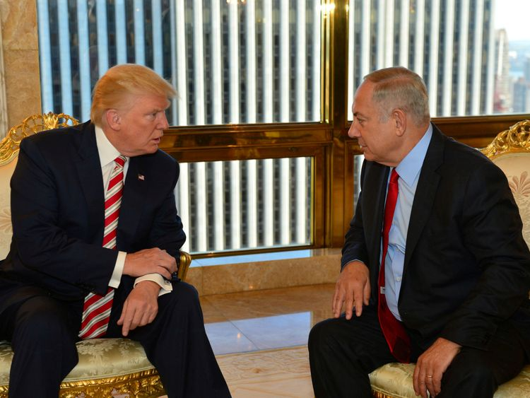 President Trump wants to improve relations with Israel which cooled under Barack Obama