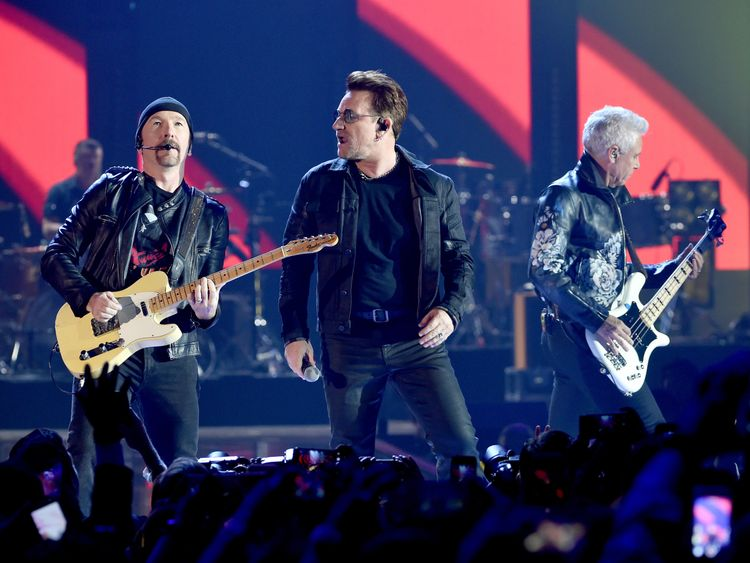 U2 were looking to reinvent themselves at the start of the 90s