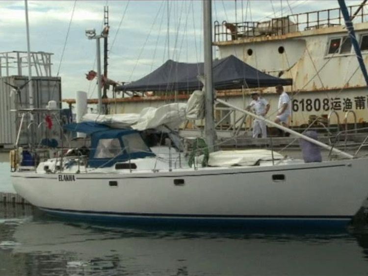 The drugs were discovered on a yacht off the New South Wales coast