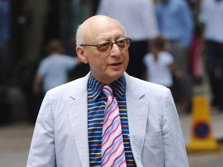 Sir Gerald Kaufman in 2006