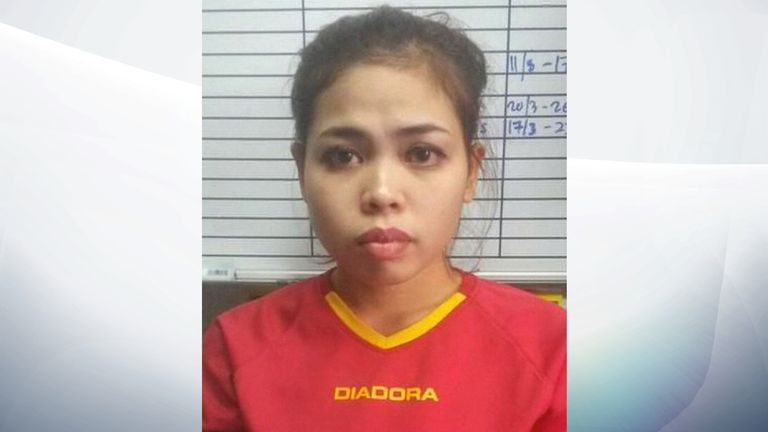 Indonesian suspect Siti Aisyah