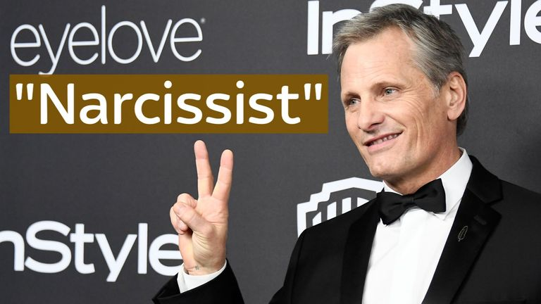 Viggo Mortensen thinks Trump is 'obviously an incurable narcissist'.