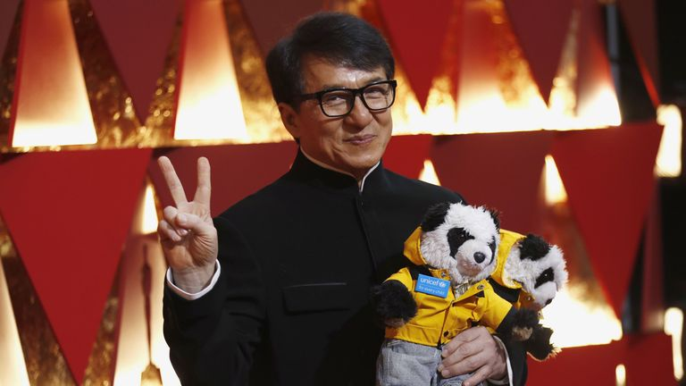 Actor Jackie Chan