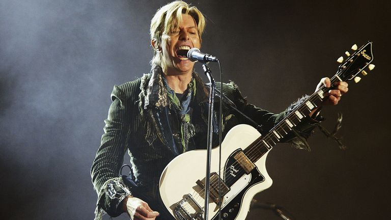 Bowie is the first artist to win a posthumous award at the Brits