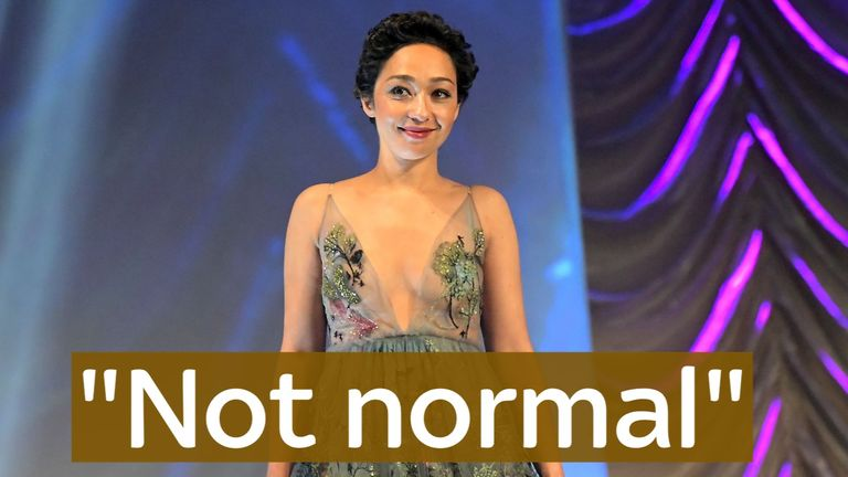 Ruth Negga has warned of the danger of normalisation Trump's policies, saying 'racism is not normal'.