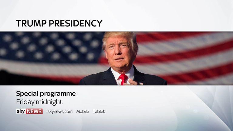 Trump Presidency special programme on Sky