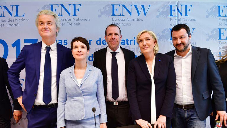 Geert Wilders and Marine Le Pen