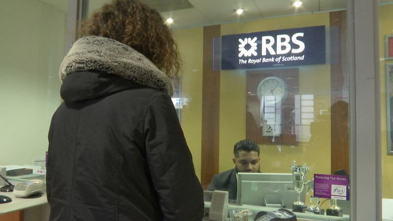 Branch closures inevitable as RBS losses more than treble to £6.96bn