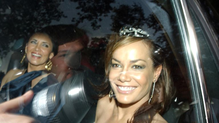 Tara Palmer-Tomkinson, pictured in 2006 at a party held by Sir Elton John