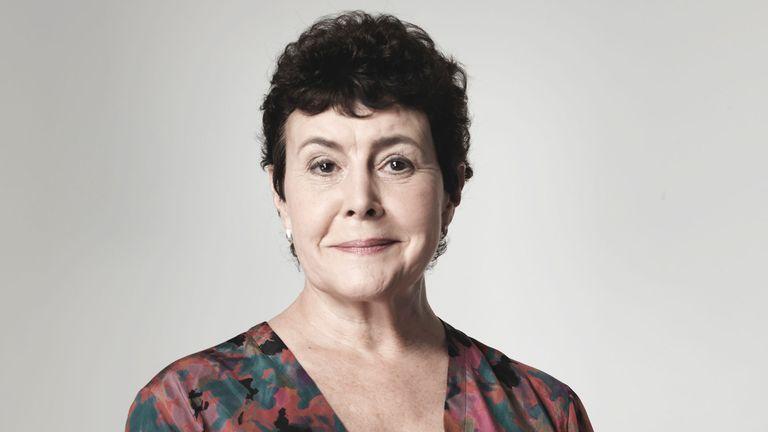 Sara Coward played Caroline Sterling for 40 years