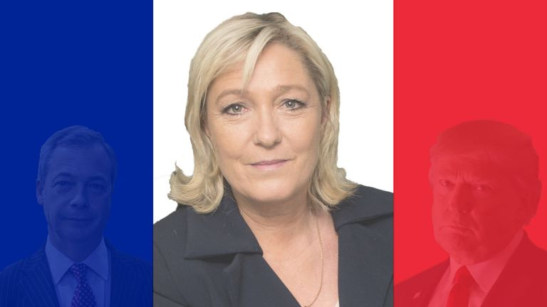 Is Marine Le Pen going to be the next big political shock?