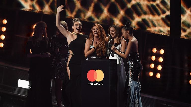 Little Mix's Shout Out To My Ex was named the Brits' best single