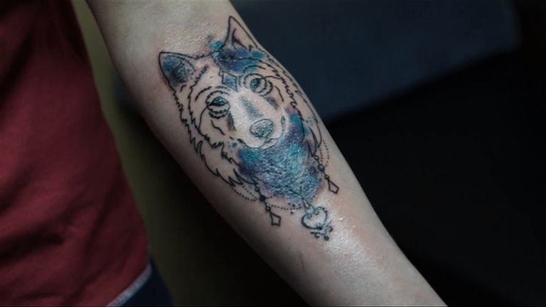 Tattoos cover domestic violence scars in Russia | Scoop News | Sky News