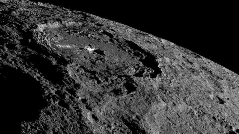 NASA's Dawn spacecraft took this image of Ceres