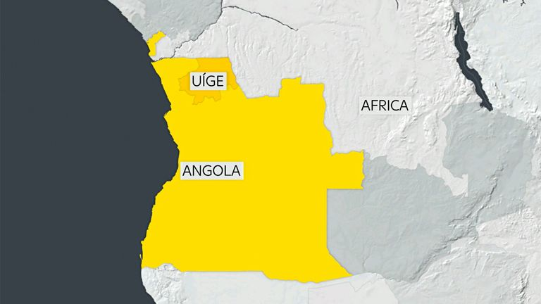 The stampede happened at a stadium in northern Angola