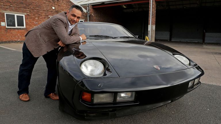 The car is currently owned by Raj Sedha