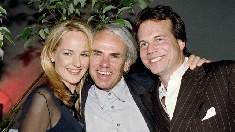 "Helen Hunt and Bill Paxton, stars of action-adventure film ""Twister"""
