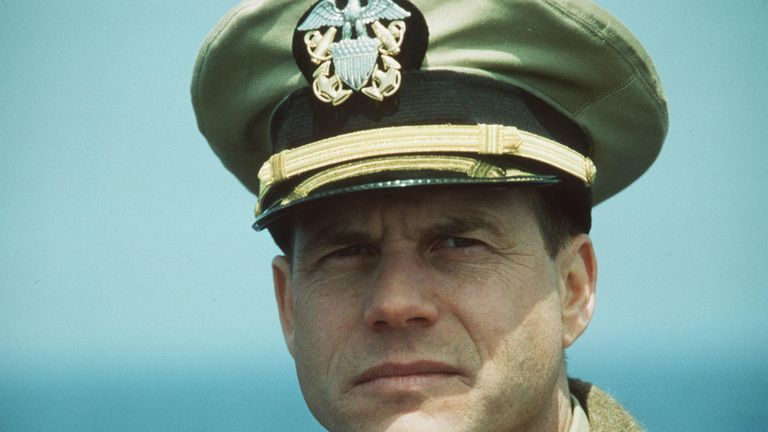 Bill Paxton Stars in Universal Pictures movie U-571