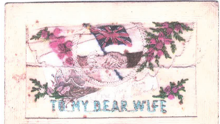 Charles Snelling's postcard to his wife, found ahead of the big international centenary commemorations of the Battle of Passchendaele taking place this July in Belgium