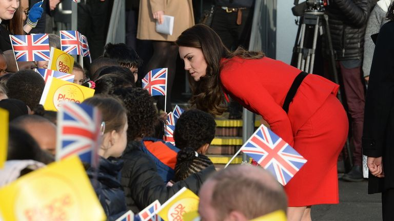 Kate is a patron of Place2Be, which is behind Children's Mental Health Week
