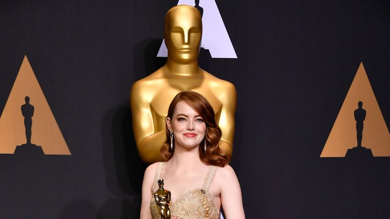 Best Actress: Emma Stone, La La Land