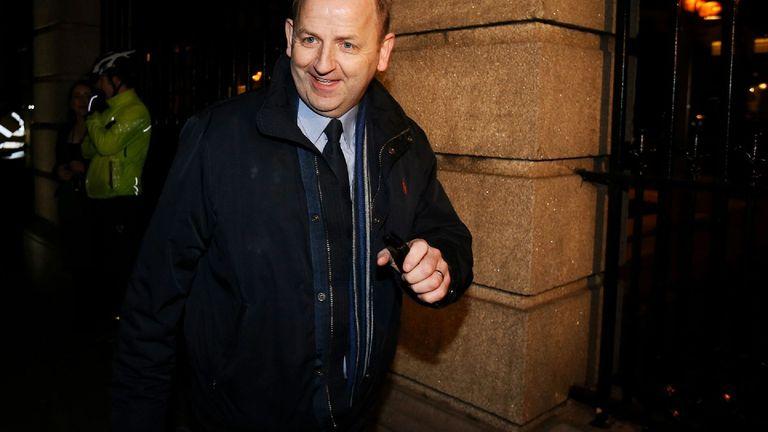 Irish police whistleblower Sergeant Maurice McCabe