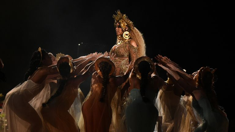 Beyonce lost album, record and song of the year to Adele