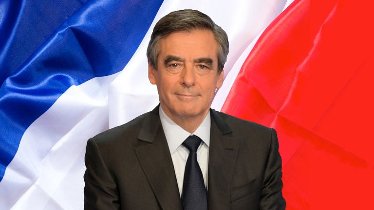 Francois Fillon is candidate for the Republicans