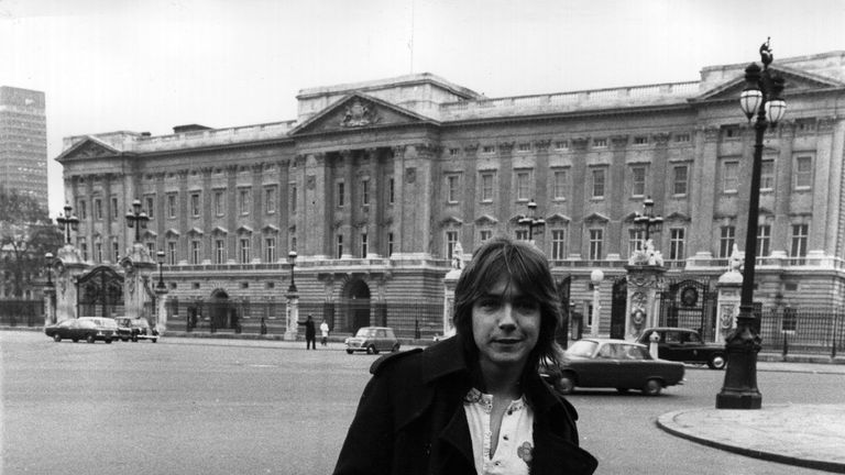 Cassidy in London during  his heyday , in 1972
